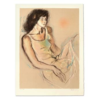 "Pecard, ""Reflections"" Limited Edition Lithograph, Numbered and Hand Signed."