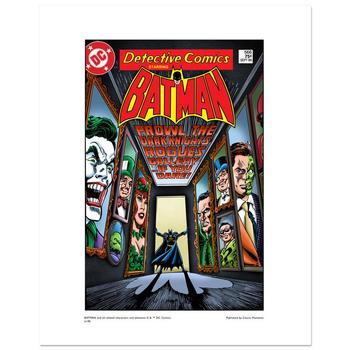 """Batman """"Rogues Gallery"""" Numbered Limited Edition Giclee from DC Comics with Certificate of Authenticity."""
