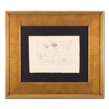 """Picasso (1881-1973), """"Sculpteur avec un Groupe sculpte"""" Framed Ltd Ed Lithograph, Numbered and Plate Signed with LOA."""