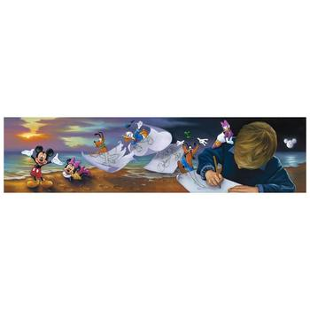 """Jim Warren """"Young Dreamer"""" Disney Limited Edition Hand Embellished Giclee on Canvas; Hand Signed; COA"""