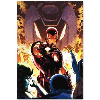 """Marvel Comics """"Iron Age #1"""" Numbered Limited Edition Canvas by Lee Weeks; Includes COA."""