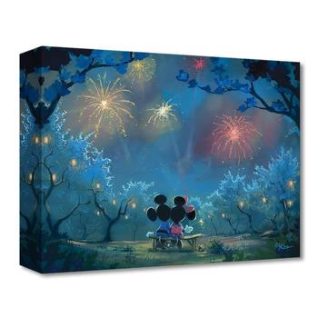 """Disney Fine Art """"Memories of Summer"""" Limited Edition Canvas by Rob Kaz from the Treasures Collection; COA."""