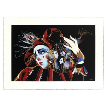 """Martiros Manoukian, """"Passionated Care"""" Limited Edition Serigraph, Numbered and Hand Signed with Certificate."""