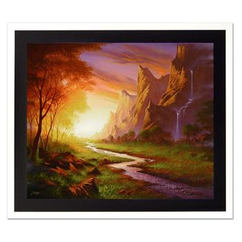 "Jon Rattenbury! ""Vision Of Dawn"" Ltd Ed Giclee on Canvas, Numbered and Hand Signed with Certificate! List $795"