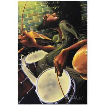 "David Garibaldi, ""Break Beat Fever"" LIMITED EDITION Giclee on Canvas, CC Numbered and Signed with Certificate."