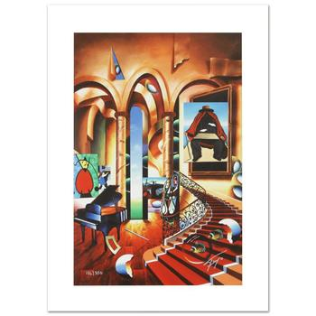 """Ferjo, """"Conclave of the Masters"""" Limited Edition Giclee on Canvas, Numbered and Hand Signed with Certificate."""