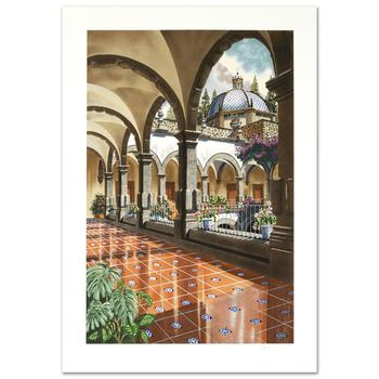 """Juan Medina, """"First Light of the Day"""" Limited Edition Serigraph, Numbered and Hand Signed with Certificate."""