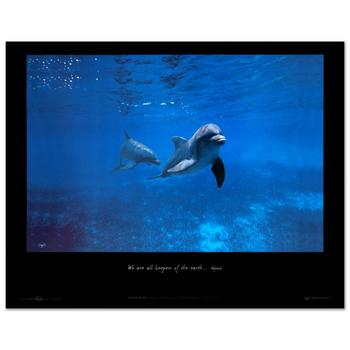 """Wyland, """"Mother Ocean - Mexico"""" Poster."""