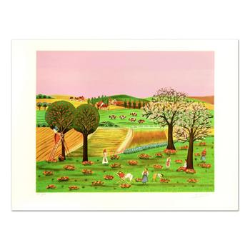"""Colagone, """"Noles D'Aton"""" Limited Edition Lithograph, Numbered and Hand Signed."""