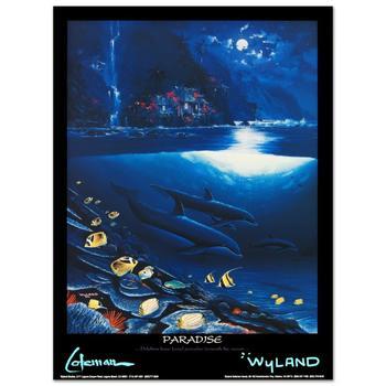 "Wyland, ""Paradise"" Poster."