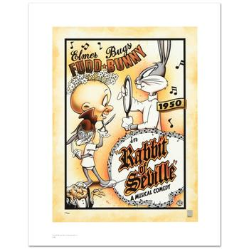"Warner Bros., ""Rabbit of Seville"" Ltd Ed Giclee, Hand Numbered with Hologram Seal of Authenticity & Cert."