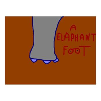 "Ringo Starr, ""Elaphant Foot"" Limited Edition Serigraph, Numbered and Hand-Signed with Certificate."