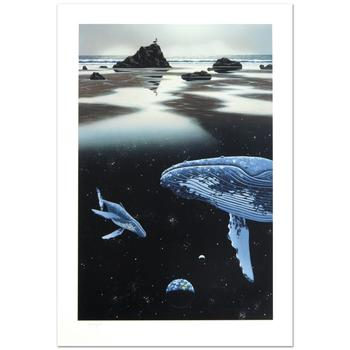 "William Schimmel, ""Sands of Time"" Ltd Ed Serigraph, Numbered and Hand Signed with Certificate."