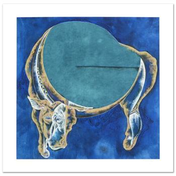 "Lu Hong, ""Taurus (4/21 - 5/21)"" Limited Edition Giclee, Numbered and Hand Signed with COA."