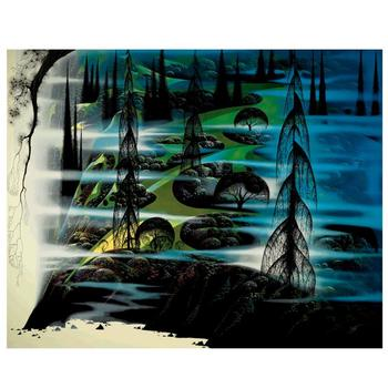 "Eyvind Earle (1916-2000), ""Beauty Beyond Believing"" Limited Edition Serigraph on Paper; Numbered & Hand-Signed; COA."