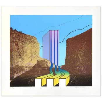 """Charles Magistro, """"Great American Canyon"""" Ltd Ed Lithograph, Numbered and Hand Signed with Certificate."""