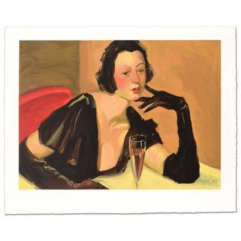 """Linda Kyser Smith, """"Beautiful Tonight"""" Ltd Ed Serigraph, Numbered and Hand Signed with Certificate of Authenticity."""