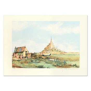 """Laurant, """"San Michel"""" Limited Edition Lithograph, Numbered and Hand Signed."""