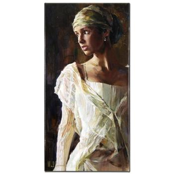 """Garmash, """"Gentle Light"""" Ltd Ed Hand Embellished Giclee on Stretched Canvas, Numbered and Hand Signed with Cert."""