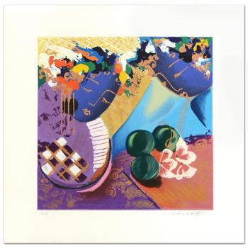 """Lee White (1948-2004), """"Whispers II"""" Limited Edition Serigraph, Numbered and Hand Signed by the Artist."""