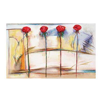 """Lenner Gogli, """"Rose Fresco"""" Limited Edition Serigraph, Numbered and Hand Signed with Letter of Authenticity."""