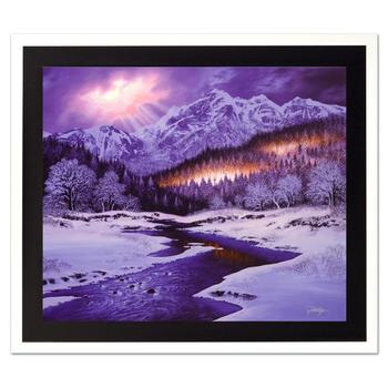 """Jon Rattenbury! """"Let There Be Light"""" Ltd Ed Giclee on Canvas, Numbered and Hand Signed with Certificate! List $795"""