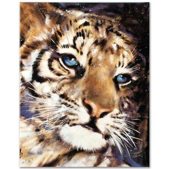 """Stephen Fishwick, """"Cub"""" LIMITED EDITION Giclee on Canvas, Numbered and Signed."""