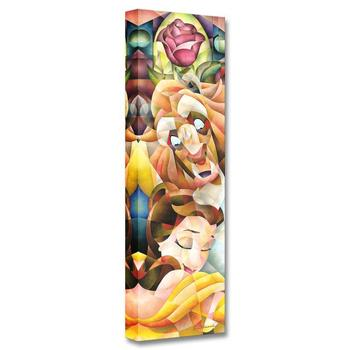 """""""True Love's Embrace"""" Limited Edition Gallery Wrapped Canvas by Tom Matousek from the Disney Treasures collection; with COA."""