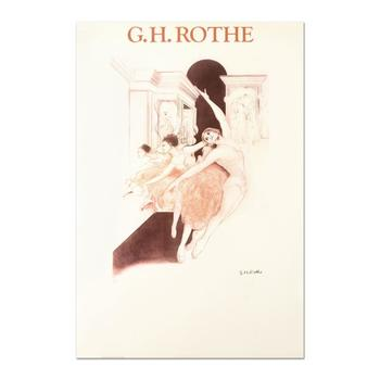 """G.H. Rothe (1935-2008), """"Bolshoi"""" Ltd Ed Serigraph, Numbered and Hand Signed with Letter of Authenticity."""