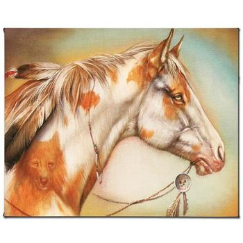 """Martin Katon, """"Dreamer Horse"""" Ltd Ed Giclee on Gallery Wrapped Canvas, Numbered and Hand Signed."""