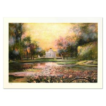 """Antonio Rivera, """"Bagatelle"""" Limited Edition Lithograph, Numbered and Hand Signed."""