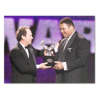 """Muhammad Ali. Licensed Photograph of the Heavyweight Champ (40"""" x 30"""")."""