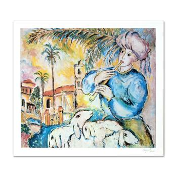 """(1951-2000), """"Jaffa"""" Ltd Ed Lithograph by Zamy Steynovitz, Numbered and Hand Signed by the Artist."""