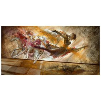 """Lena Sotskova, """"Force of Nature"""" Artist Embellished Limited Edition Giclee on Canvas with COA."""