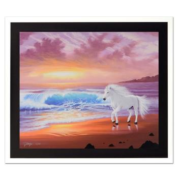 """Jon Rattenbury, """"Shores of Grace"""" Ltd Ed Giclee on Canvas, Numbered and Hand Signed with Certificate."""