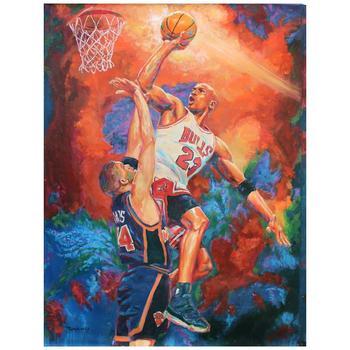 """Turchinskiy Dmitriy, """"Unstoppable"""" Hand Signed Original Oil on Canvas; COA"""
