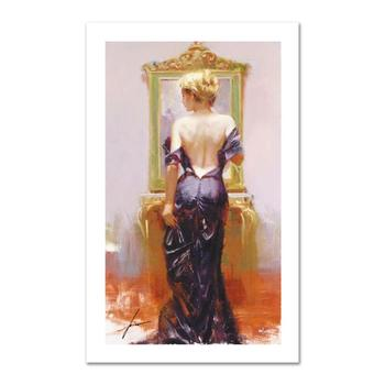 """Pino (1939-2010) """"Evening Elegance"""" Limited Edition Giclee. Numbered and Hand Signed; Certificate of Authenticity."""