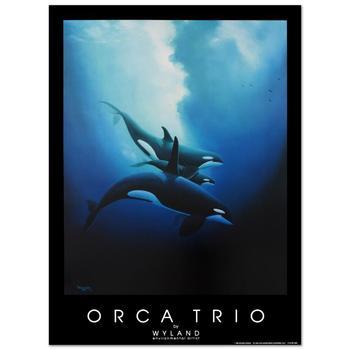 "Wyland, ""Orca Trio"" Poster."
