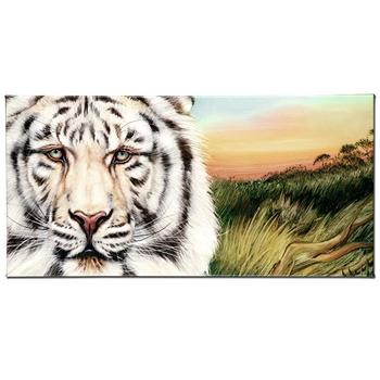 "Martin Katon, ""White Bengal"" Ltd Ed Giclee on Gallery Wrapped Canvas, Numbered and Hand Signed."