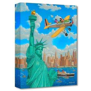 """Freedom Flight "" Limited edition canvas by Manuel Hernandez from the Disney Fine Art Treasures collection; with COA"