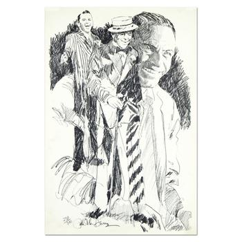 "Paul Blaine Henrie (1932-1999), ""Sinatra"" Ltd Ed Serigraph, Numbered and Hand Signed with Letter of Authenticity."