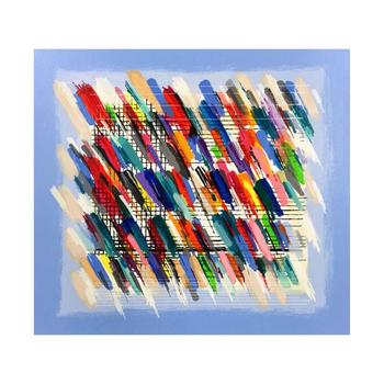 "Calman Shemi, ""Jazz Notes"" Limited Edition Serigraph, Numbered and Hand Signed with Letter of Authenticity."