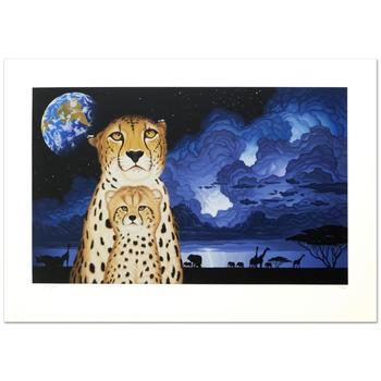 """William Schimmel, """"Guardians of the Night"""" Ltd Ed Serigraph, Numbered and Hand Signed with Certificate."""
