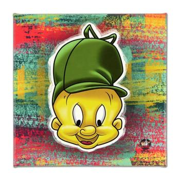"Looney Tunes, ""Elmer Fudd"" Limited Edition on Gallery Wrapped Canvas, from an edition of 500 with Certificate."