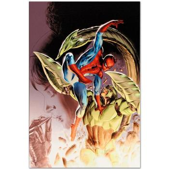"Marvel Comics ""Heroes For Hire #8"" Numbered Limited Edition Canvas by Doug Braithwaite; Includes COA."