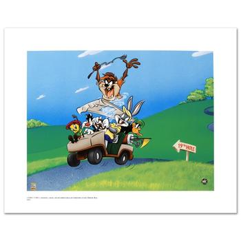 "Warner Bros., ""To The 19th Hole"" Ltd Ed Giclee, Hand Numbered with Hologram Seal of Authenticity & Cert."