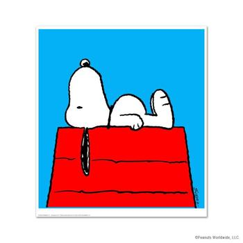 """Peanuts, """"Take A Moment"""" Hand Numbered Limited Edition Fine Art Print with Certificate of Authenticity."""
