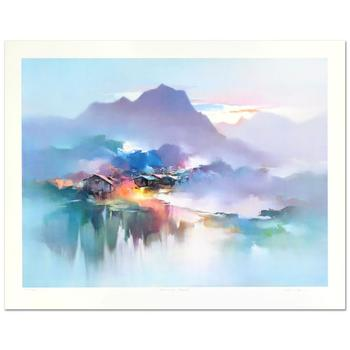 """H. Leung, """"Morning Mist"""" Limited Edition, Numbered and Hand Signed with Letter of Authenticity."""