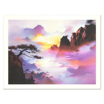 """H. Leung, """"Approach of Night"""" Limited Edition, Numbered and Hand Signed with Letter of Authenticity."""