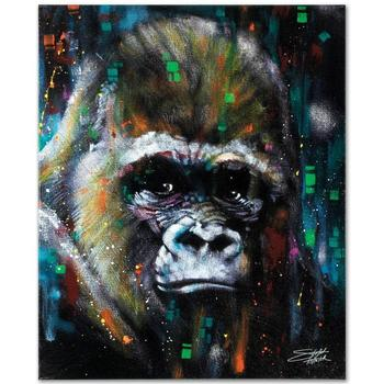 """Stephen Fishwick, """"Albert"""" LIMITED ED Giclee on Canvas, Numbered and Signed."""